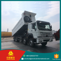 SINOTRUK HOWO 8X4 dump truck 371HP for sale