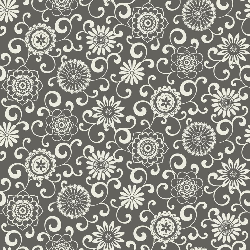 Ecru//White WP2432 Waverly Small Prints Pom Pom Play Wallpaper