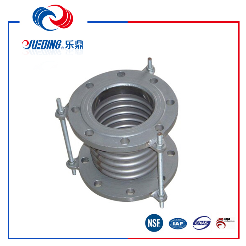 10 inch flange type stainless steel bellows type expansion joints