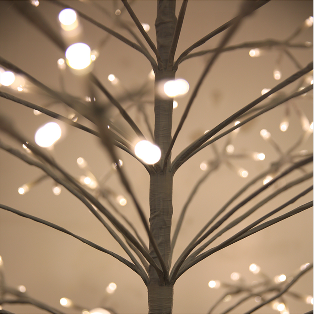 ROPIO al aire libre decoraciones de Navidad led iluminado luz del árbol