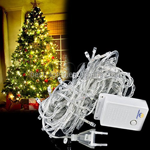 2018 factory supplier light strings programmable led christmas lights