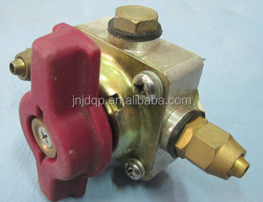 Emergency valve for the higer bus parts