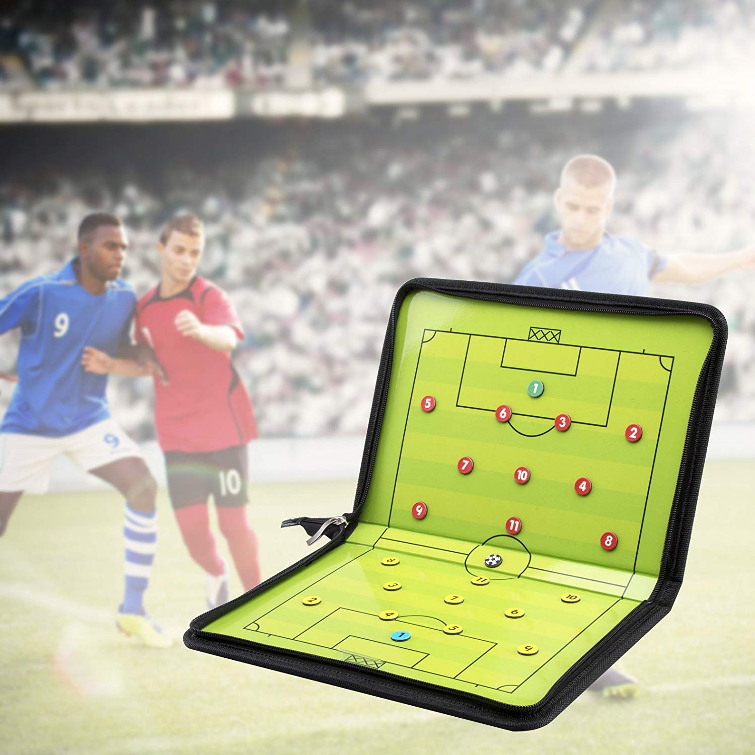 Wholesale Football/Soccer Coaces Magnetic board Winning strategy board with Marker pieces