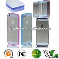 2 in 1 back case cover for iphone5/5s