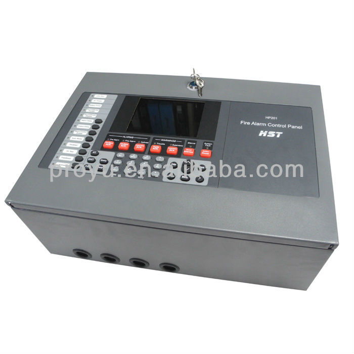 2Loop Addressable Fire Alarm Control Panel Each Loop Support 198 Address Easy Find the Fire Source PY-CK2000-2