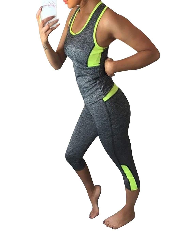 Get Quotations · Kecooi Womens Activewear Activewear Pants Activewear Tops  Active Sweatsuits 7a50f076c820