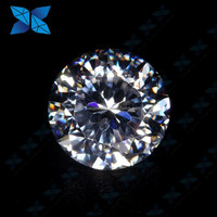 AAAAA quality night heart and one flower brilliant star cut gemstone