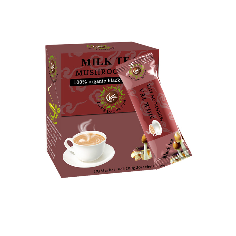Lifeworth flavored instant black tea powder with organic chaga - 4uTea | 4uTea.com