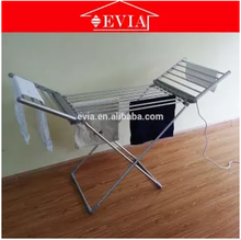 Quick drying Efficient elegant foldable electric clothes dryer rack,electric butterfly portable clothes dryer rail