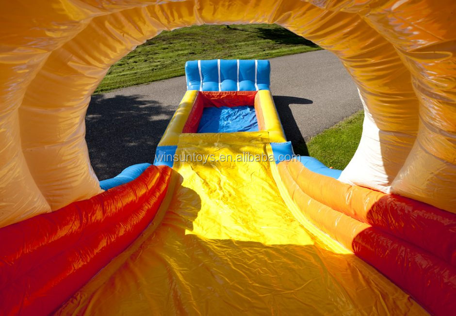 New design and high quality inflatable bouncer with water slide pool