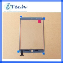 For iPad mini LCD Digitizer with display Front Glass Faceplate Lens Part Panel Wholesale Price