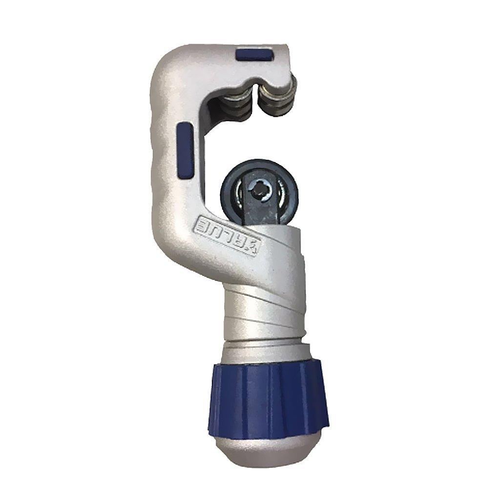 Fenteer Ball Bearing Heavy Duty Professional Copper Pipe Cutter 5-50mm/4-32mm - Silver, 4-32mm