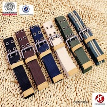 Top sale custom military canvas belt with double pin buckle