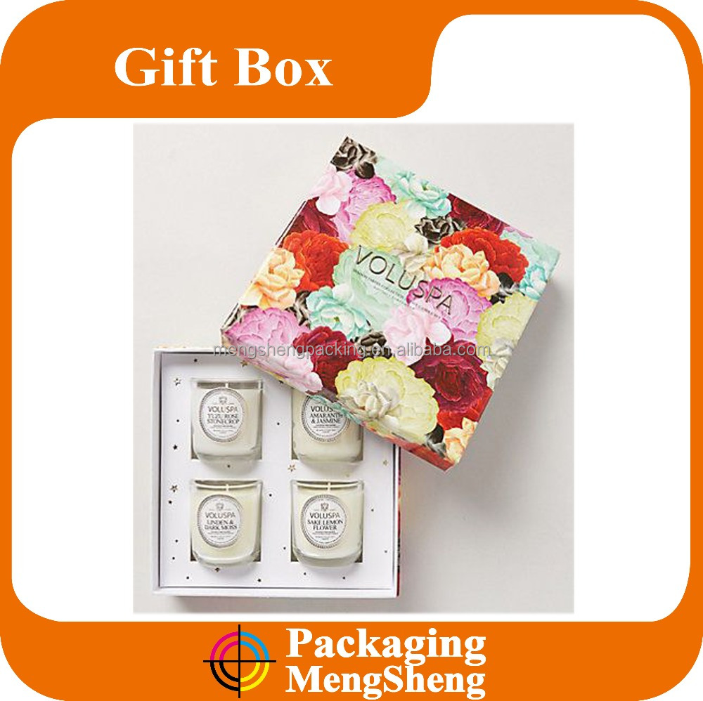 Wholesale Gift Boxes For Candles/Candle Packaging Boxes/Luxury Candle Box