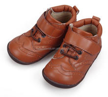 Breathable fashion leather baby shoes
