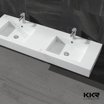 Terrific Modern Design Solid Surface Double Bathroom Sink Buy Bathroom Sink Bathroom Double Wash Basin Resin Stone Bathroom Face Basin Product On Alibaba Com Interior Design Ideas Gentotryabchikinfo