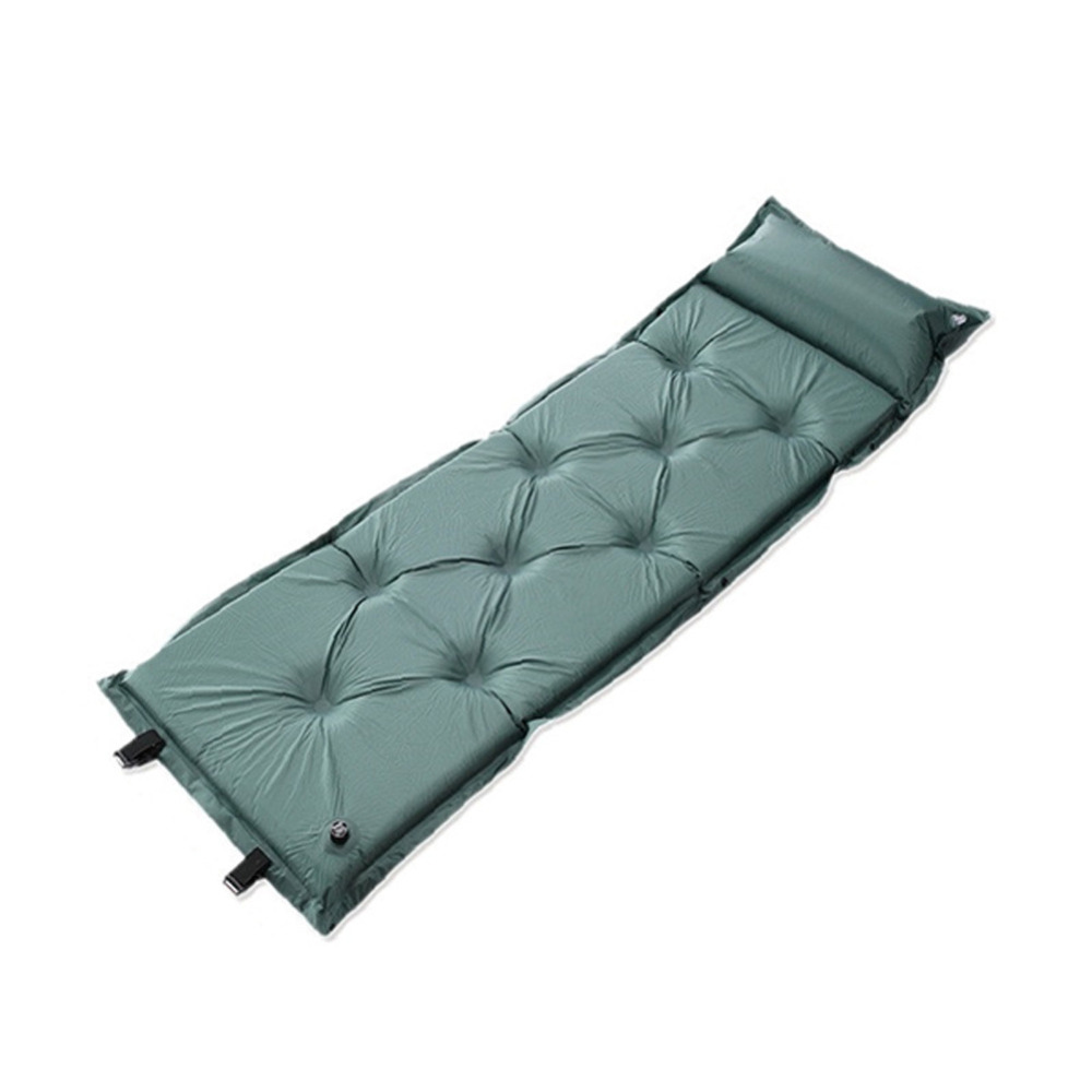 Wholesale Outdoor Camping Single Automatic Inflatable Mat Sleeping Pad