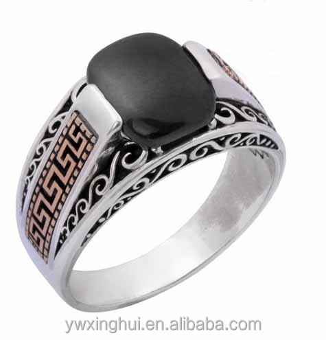 Design your own turkish man rings from silver
