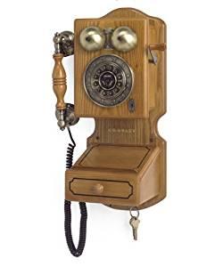 Crosley CR92 Country Kitchen Wall Phone II, Oak