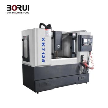 Small Cnc Mill >> Xk7125 Borui Brand Small Cnc Mill Milling Machine Metal 240v Buy