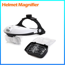 DH-87002 head wear magnifying glass x2.5 3.5