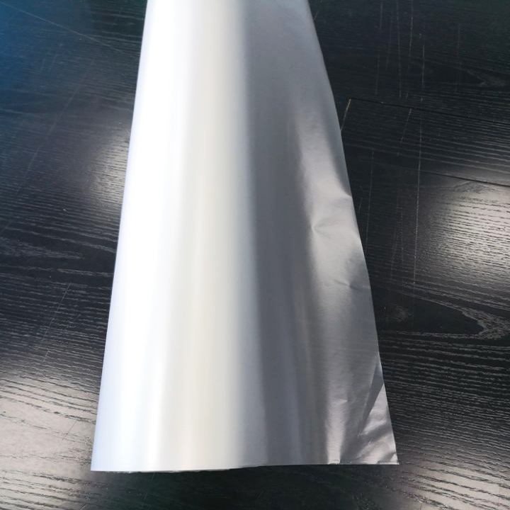 FLY Cheap price high quality CPP cold matt lamination film, pvc free laminated film paper for screen