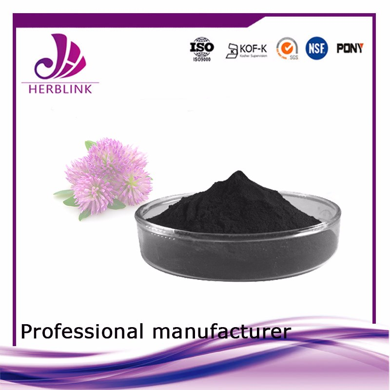 GMP Factory Supply Organic Red Clover Extract in Herbal Extract
