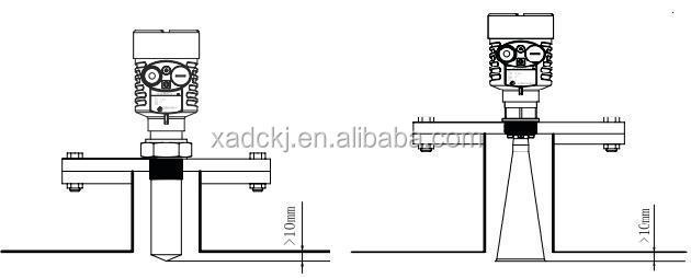 Watertank niveau sensor draadloze RS485 uitgang diesel olie niveau meter aardolie brandstof indicator voor gas station