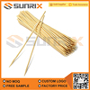 Factory supply Natural Disposable BBQ Bamboo Skewer