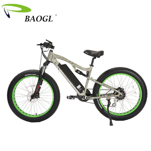 new product hugely popular dual suspension 26inch fat tire electric bicycle