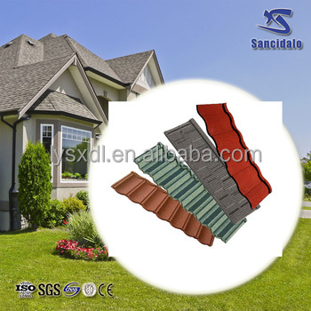 Metal Building Material Cheap Asphalt Shingles/stone Coated Metal Used  Metal Roofing Sale/colour