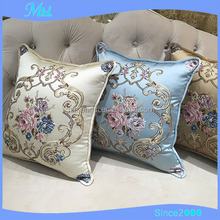 Popular embossed sofa decorative bed cushion