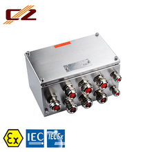 CZ CZ1320 Explosion-Proof EX E Stainless Steel JUNCTION BOX <span class=keywords><strong>IP66</strong></span>