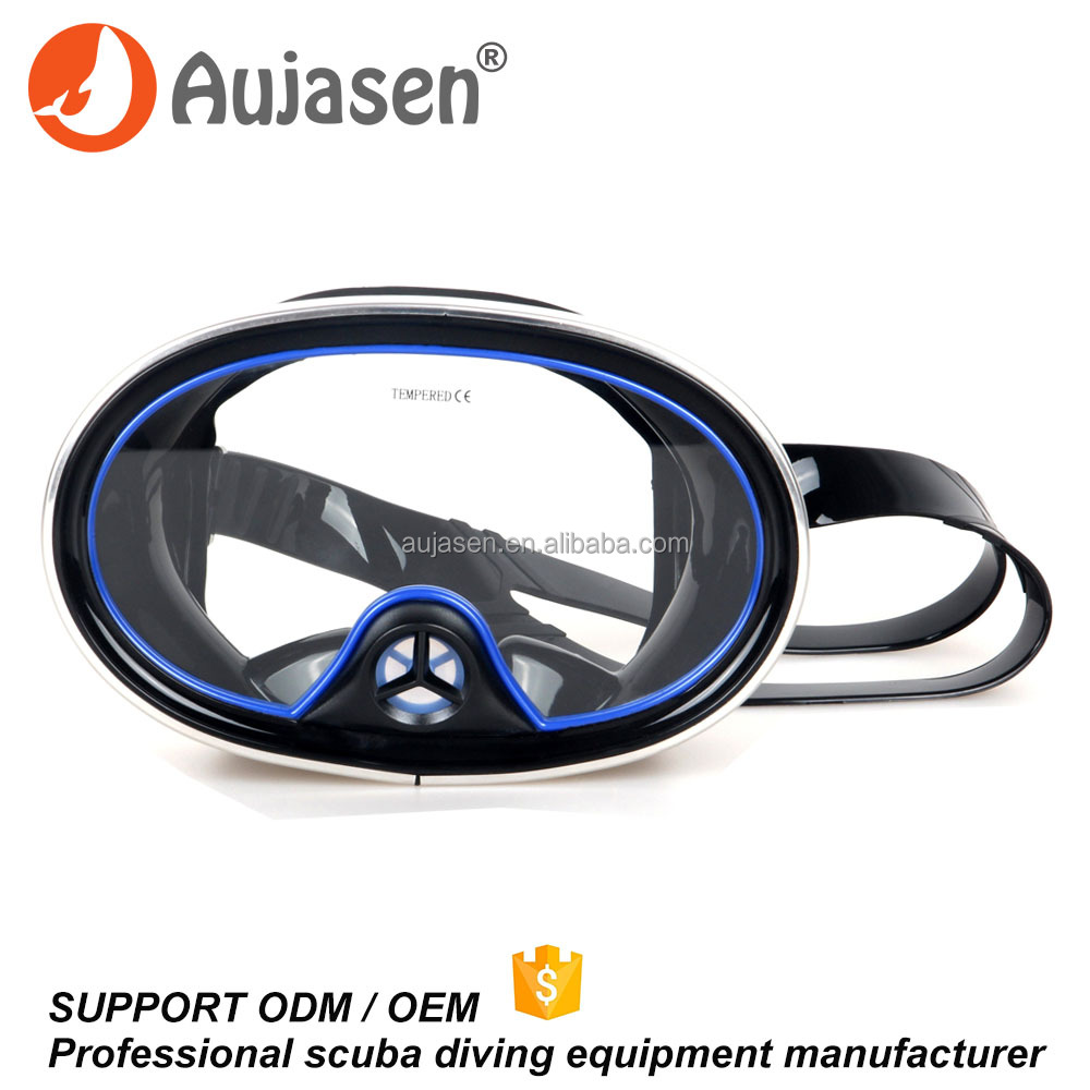 High Quality Diving Equipment Oval Diving Mask Classic Scuba Diving Mask