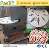 Large capacity stainless steel chicken claw peeling machine / highest quality chicken feet cutting machine