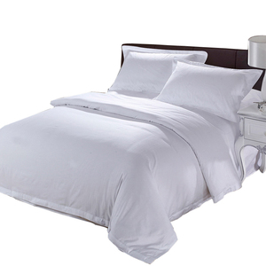Top Rated 5 Star Hotel Linen Suppliers for Hotels Bed Sheet 300 Thread Count 100% Cotton