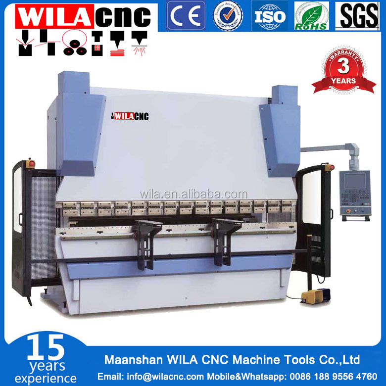 WC67Y-50T2500 Factory Price steel plate nc bender machine,bending machine for making door frame with high quality
