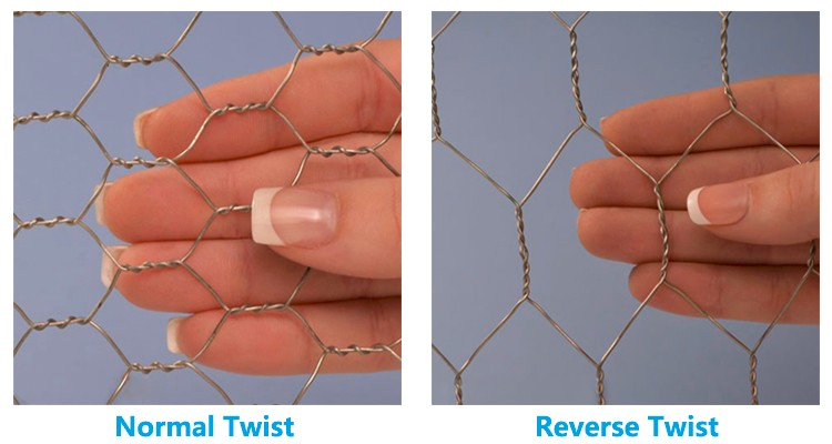 Galvanized Chicken Wire Mesh Hexagonal Wire Netting untuk Unggas