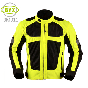 High visibility reflector cordura riding motorcycle jackets