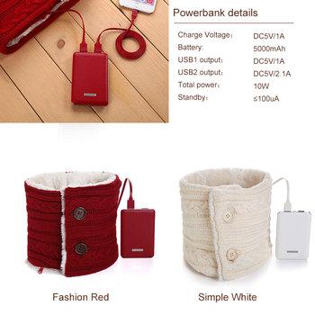 Heated Warm scarf warm innovative birthday gifts for husband
