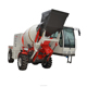 Small Concrete Batch Truck with articulated steering