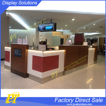 Mall eyebrow threading kiosk antique furniture beauty salon barber stations