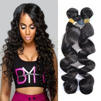 wholesale Brazilian hair in Mozambique loose wave 100 crochet braids virgin human hair extension