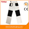 Bleached White Mens Painter Pants Workwear With Knee Pads