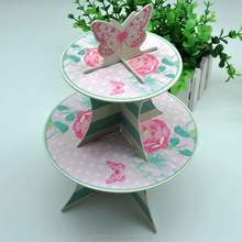 Butterfly Paper Cake Stand,Paper Stand For Wedding Cake
