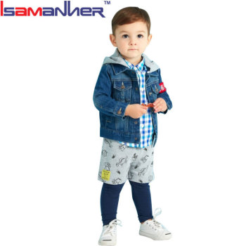 Winter kids jackets boys clothing sets fashion children suits boys