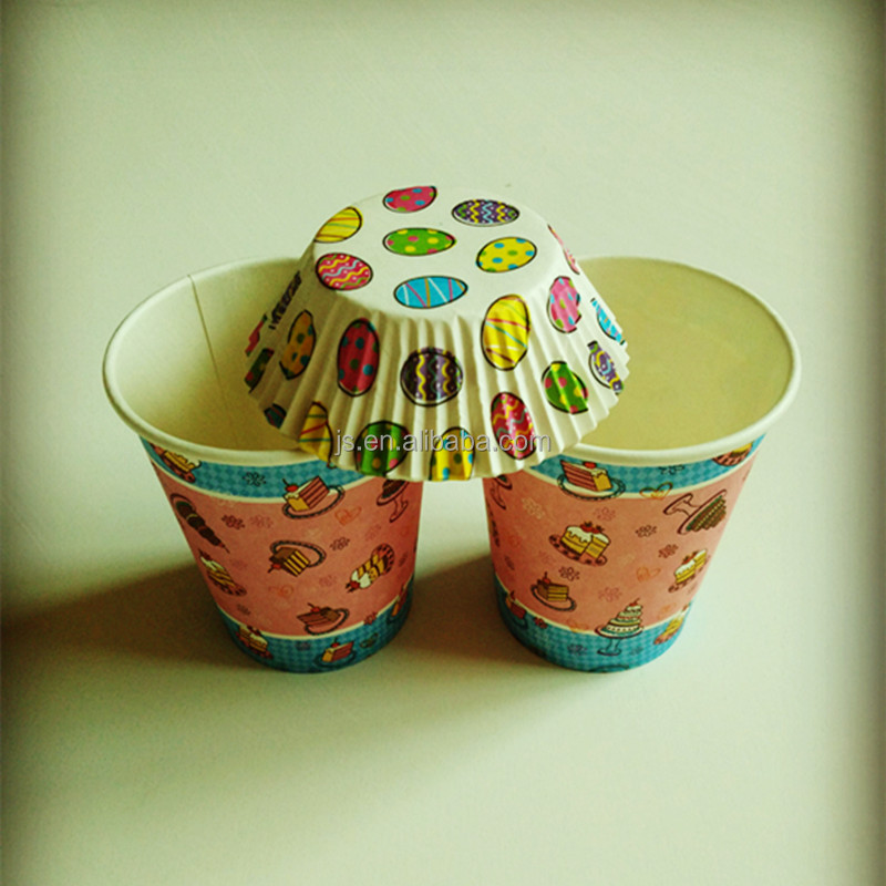 Regular size with cake pattern any size paper cup making