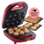 3-in-1 Treat Maker, con staccabile piastra Ciambella, Torta Pop, e Waffle Maker 600 w