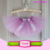 Retail Girls Pettiskirt 0-12M Children Baby Nylon Chiffon Summer Yarn Dyed Kids Clothes Short Dance Tutu Skirt Set With Bow