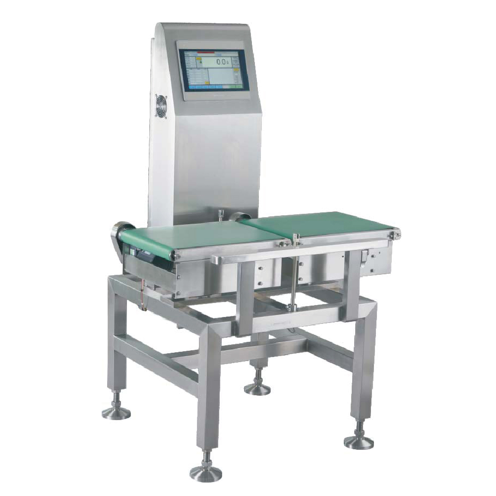 Conveyor belt automatic checkweigher for feed chemical medicine cosmetics food